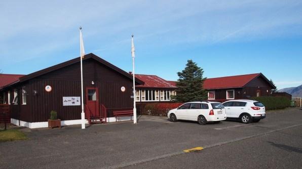unser Hostel in Höfn