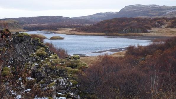 Der Fluss Norðurá