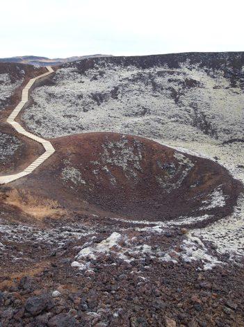 nochmal der Krater
