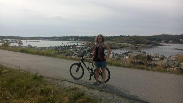 Mit Mountainbike auf den Schären