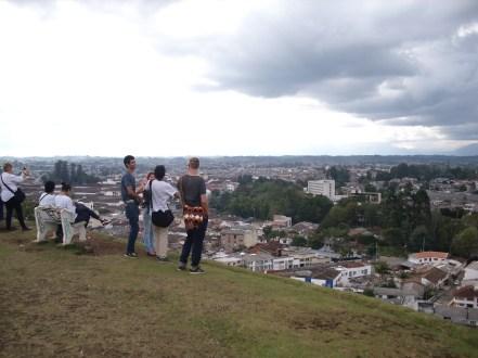 Ausblick auf Popayán