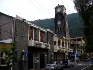 Eine Kirche in Baños