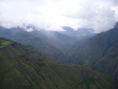 Aussicht von Kuélap