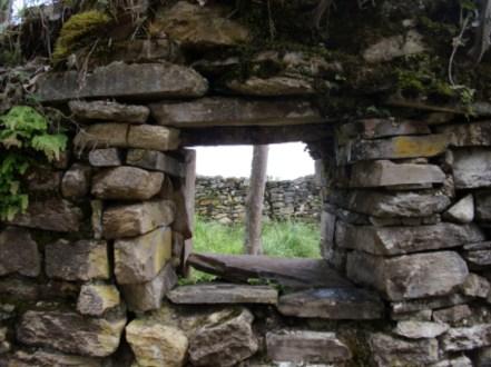 Fenster in Kuélap