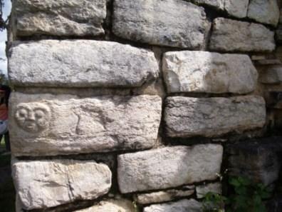 Symbol in einem Tempel