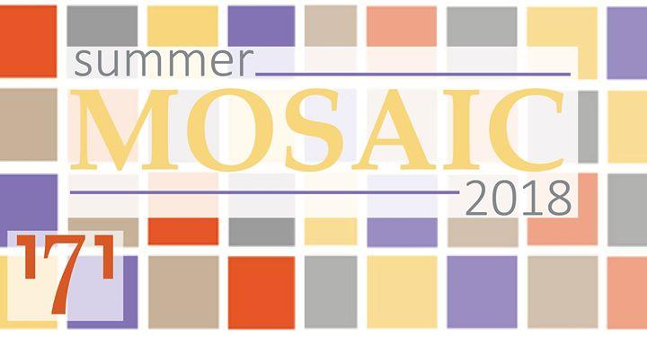 Summer Mosaic 2018 blog cover