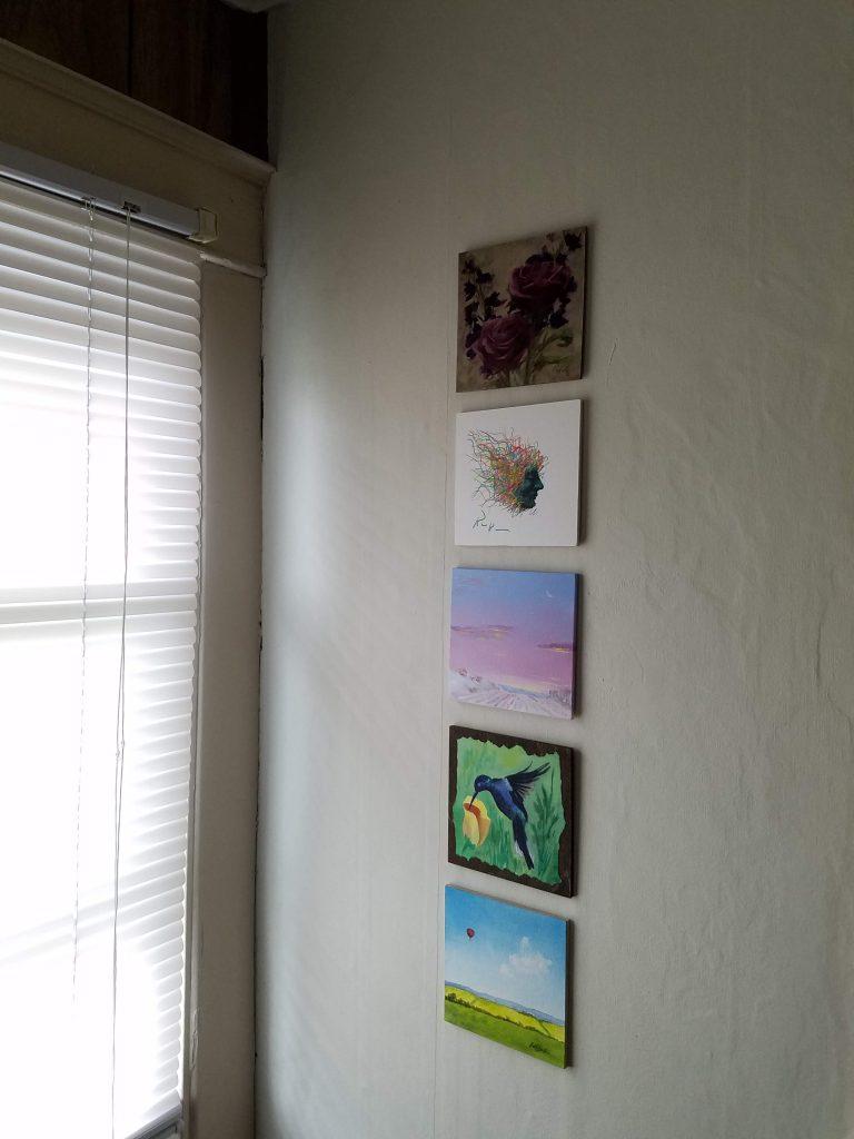 Summer Mosaic paintings