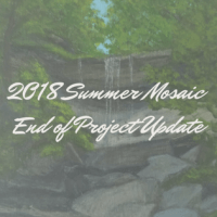 2018 Summer Mosaic End of Project Update