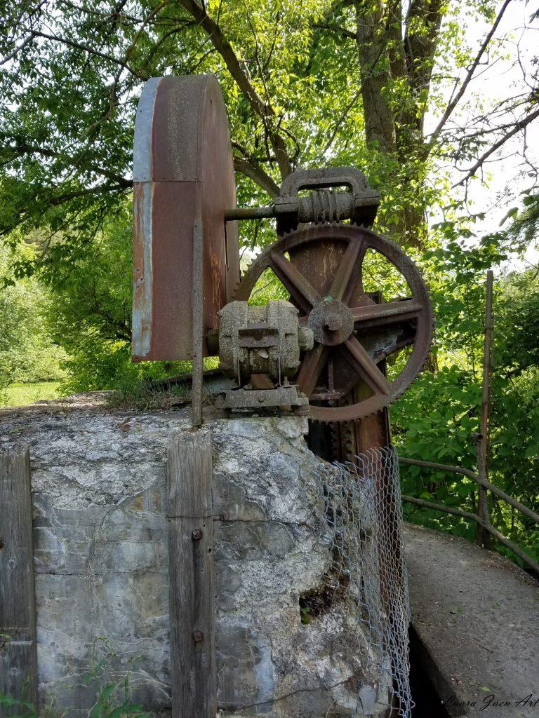 Photo of Seneca Mill Falls Keuka Outlet Trail by Laura Jaen Smith
