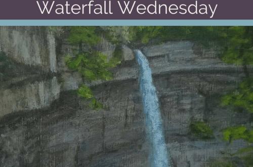 Carpenter Falls Waterfall Wednesday blog cover