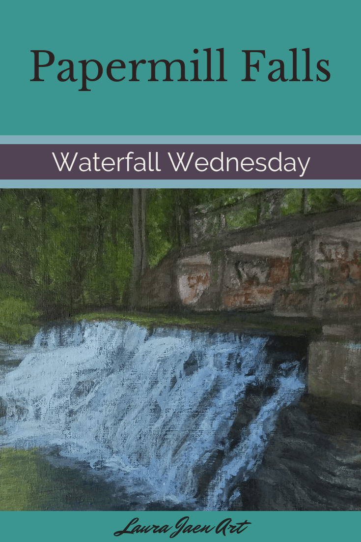 Papermill Falls Waterfall Wednesday blog cover