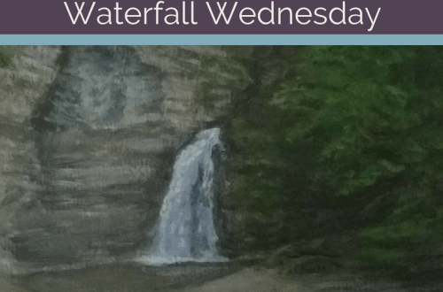 Eagle Cliff Falls Waterfall Wednesday blog cover