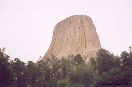 Photo of Devils Tower Trail Sundance Wyoming by Laura Jaen Smith