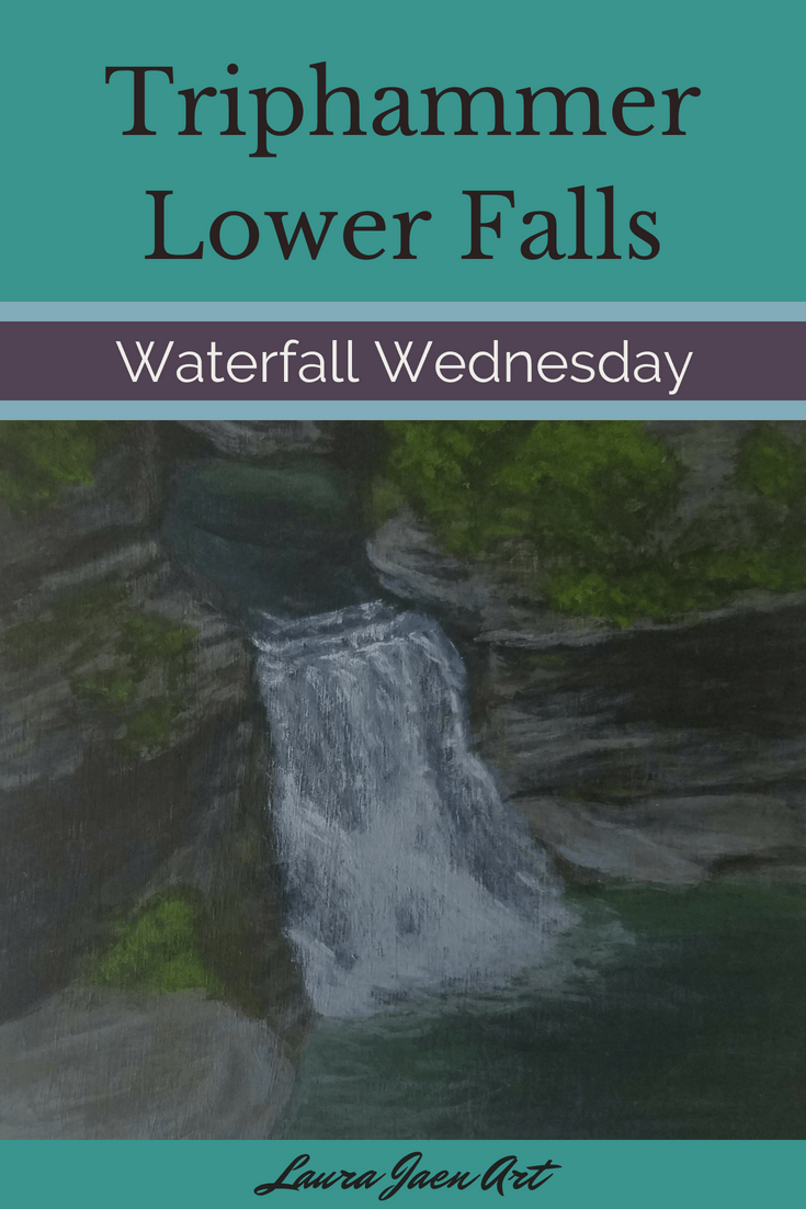 Triphammer Lower Falls Waterfall Wednesday blog cover