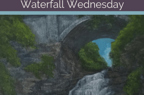 Giant's Staircase Waterfall Wednesday blog cover
