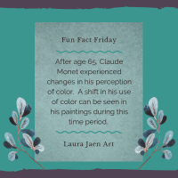 Fun Fact Friday: Monet's Color Shift