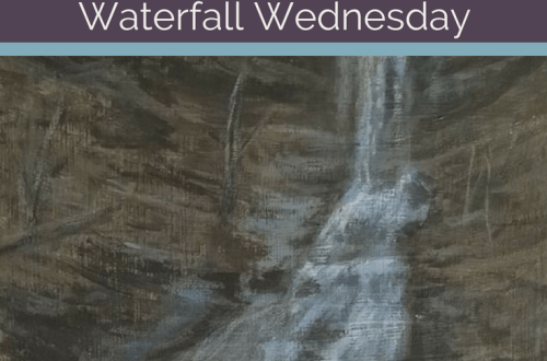 Aunt Sarah's Falls Waterfall Wednesday blog cover