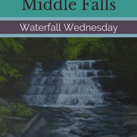 Waterfall Wednesday: Stony Brook Middle Falls