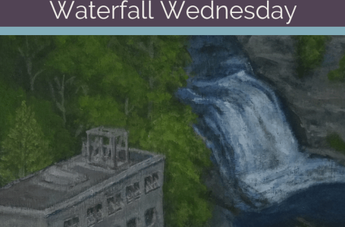 Rocky Falls Waterfall Wednesday blog cover