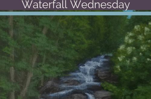 Stockbridge Falls Waterfall Wednesday blog cover
