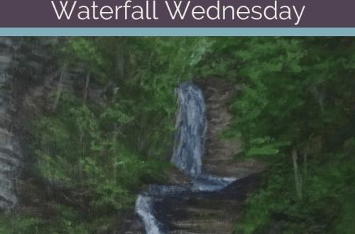 Deckertown Falls Waterfall Wednesday blog cover