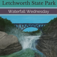 Waterfall Wednesday: Letchworth Upper Falls