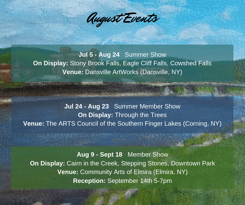August events graphic