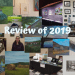 Review of 2019 graphic. Photos of highlights from the year.