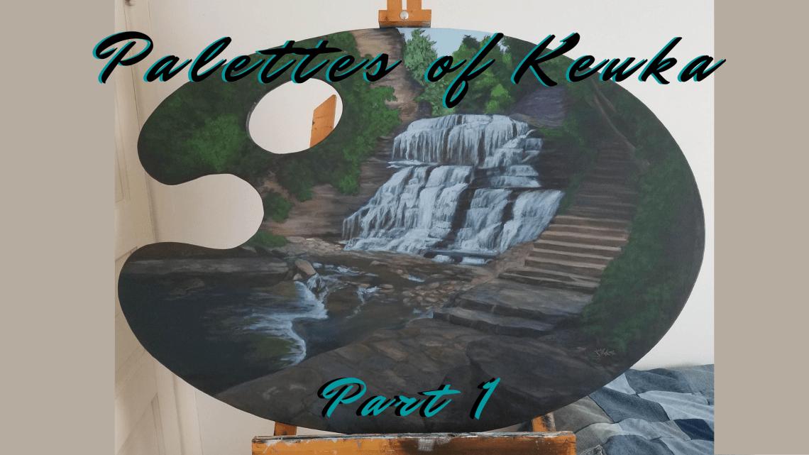 Palettes of Keuka part 1 blog cover