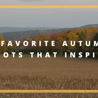 6 Favorite Autumn Spots That Inspire