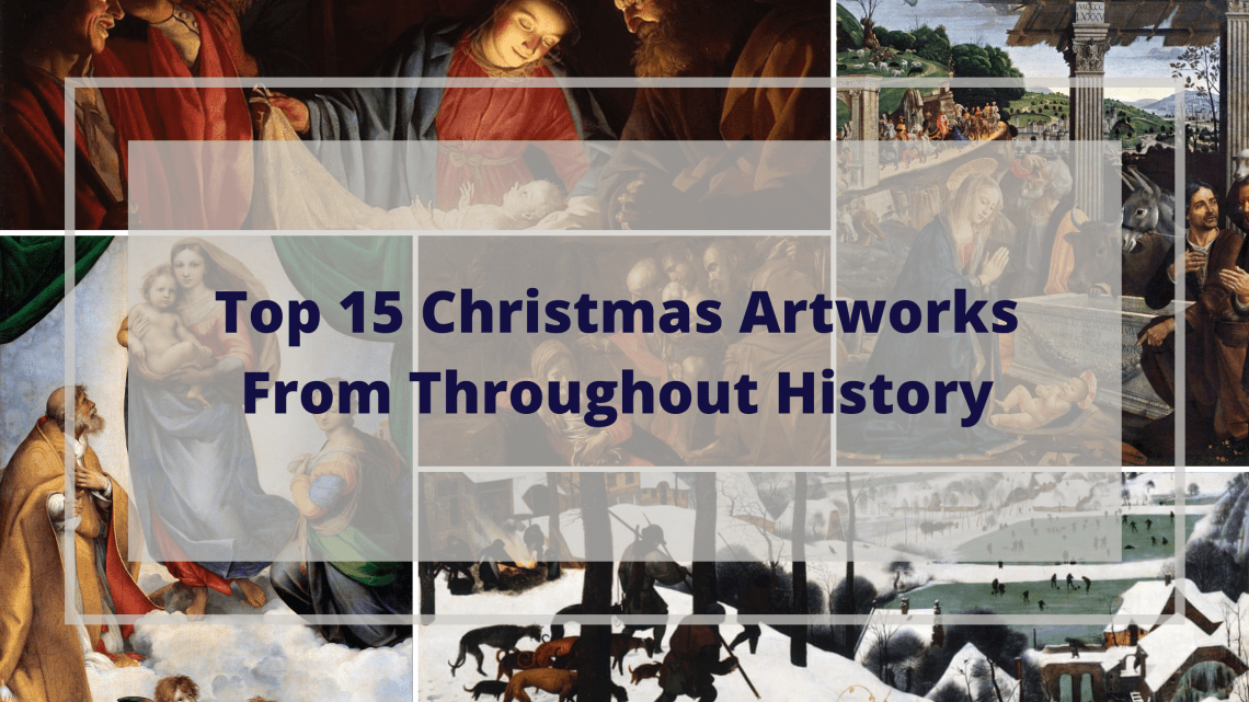 Top 15 christmas artworks from throughout history blog cover