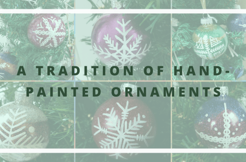 A tradition of hand-painted ornaments blog cover