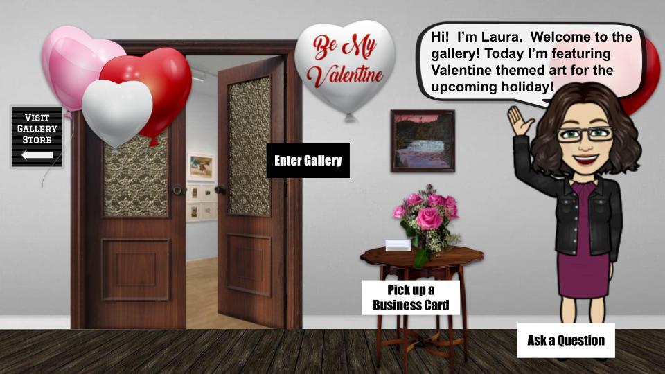 Valentine art show interactive art show blog cover