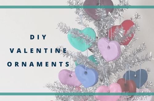 DIY Valentine Ornaments blog cover