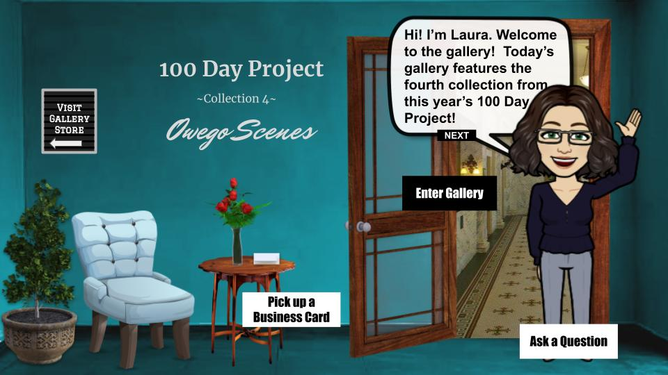 100 day project collection 4: Owego scenes interactive art show blog cover