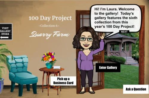 100 Day Project Collection 6: Quarry Farm Interactive art gallery blog cover
