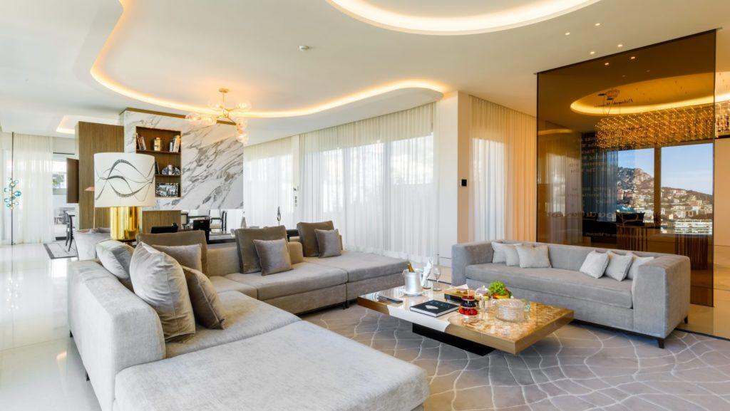 Hôtel de Paris Monte Carlo em Monaco Diamond Suite Princesse Grace