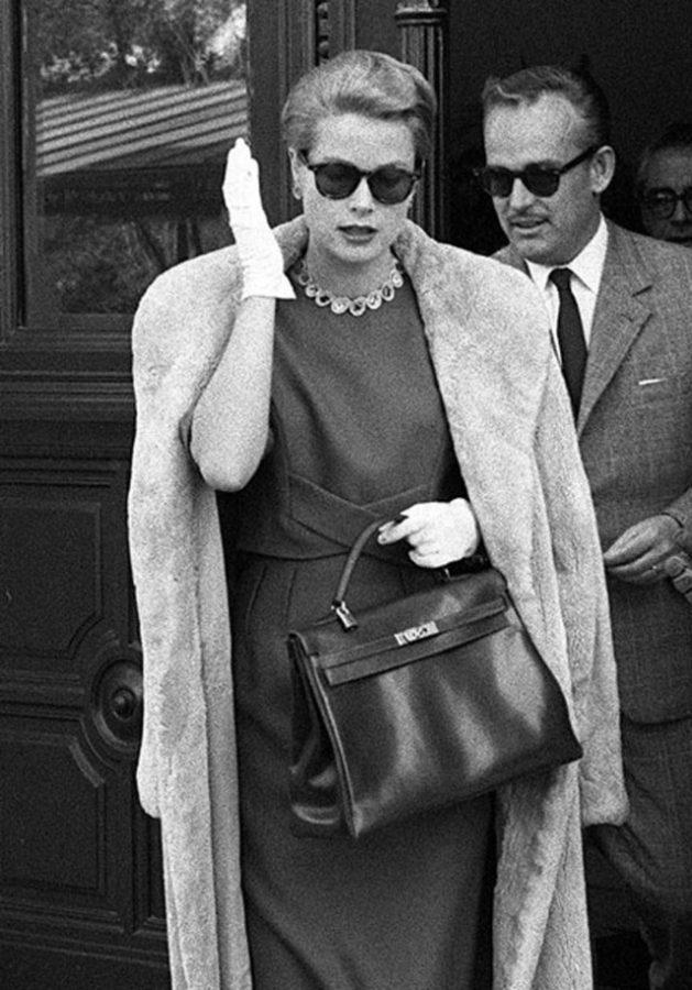 Grace Kelly e sua bolsa Gucci