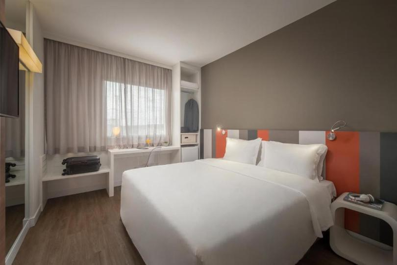 quarto do Intercity Hotels em Bauru