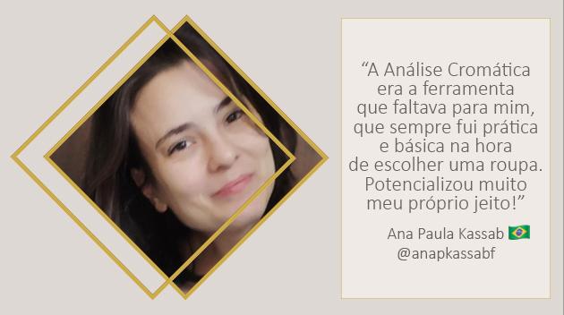 Análise de Coloração Pessoal Ana Paula Kassab