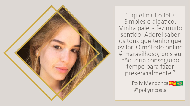 modelo Polly Mendonça Costa