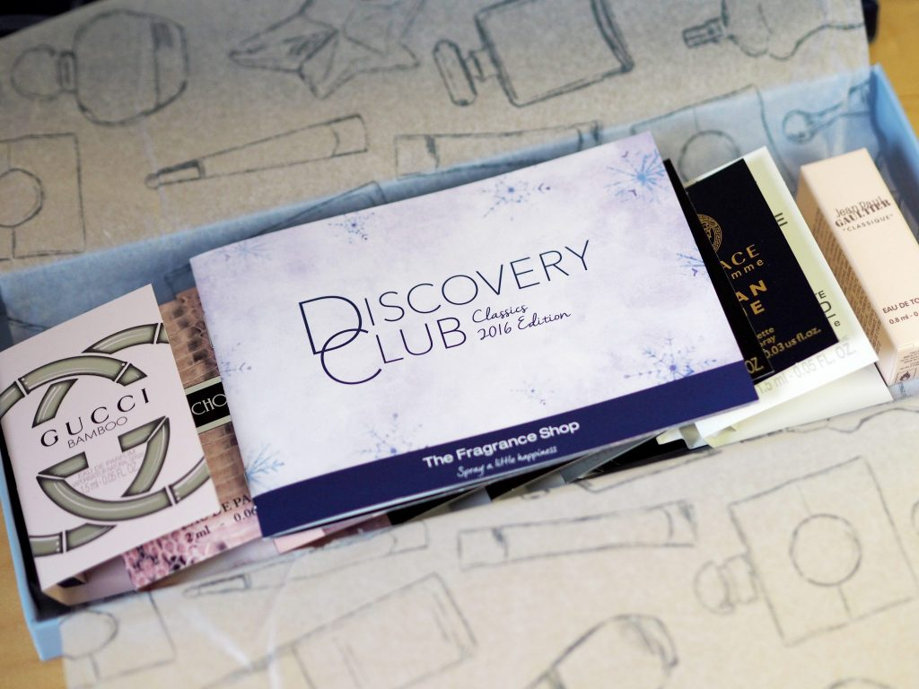 Laura Kate Lucas - Manchester Fashion and Lifestyle Blogger | The Fragrance Shop Discovery Box Product Review