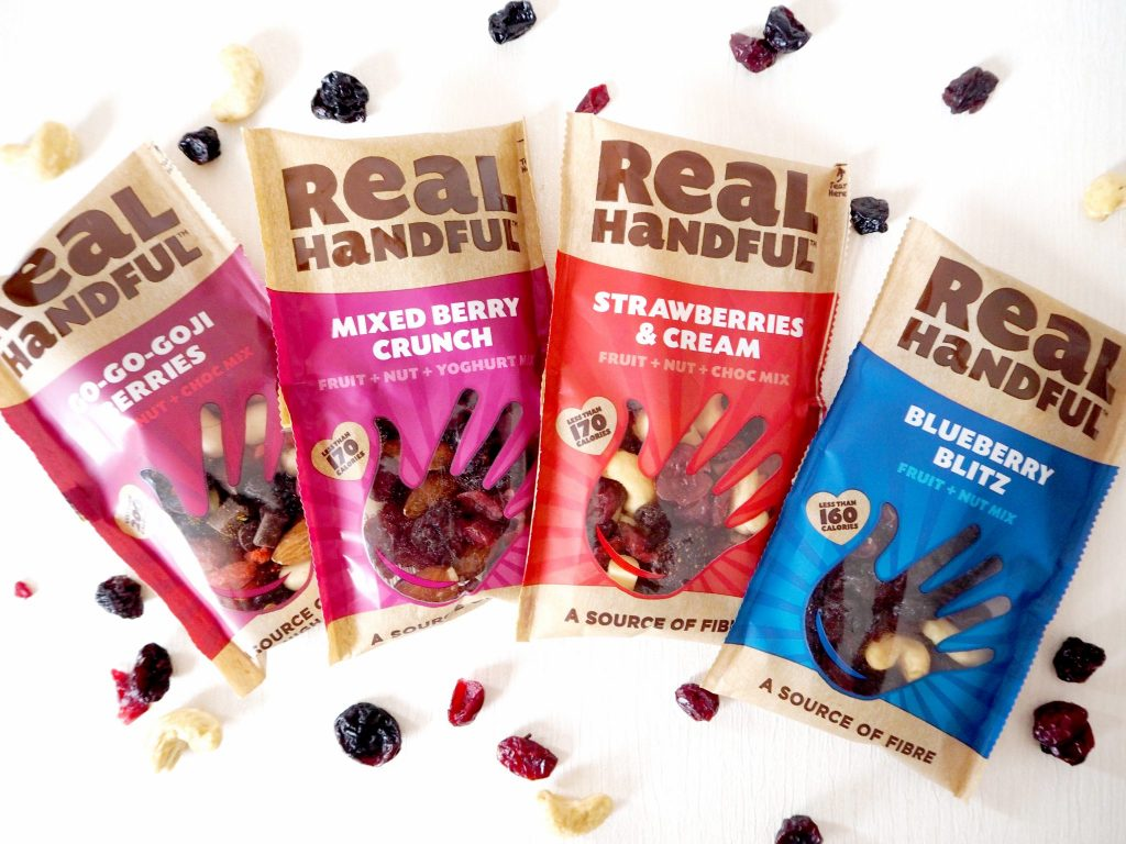 Laura Kate Lucas - Manchester Fashion, Food and Fitness Blogger | Real Handful Nuts and Berries - Healthy Snack