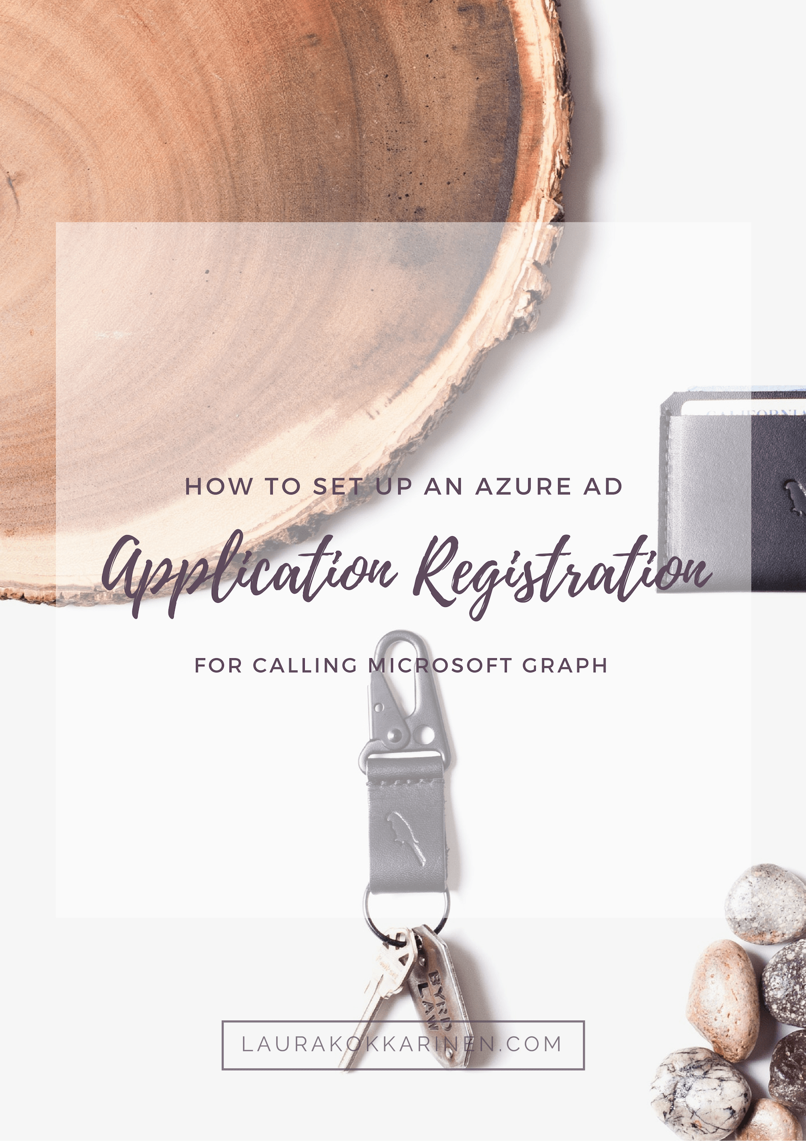 How to set up an Azure AD application registration for