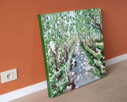 De Haan Large Forest - 60 x 60 cm - On the ground 2