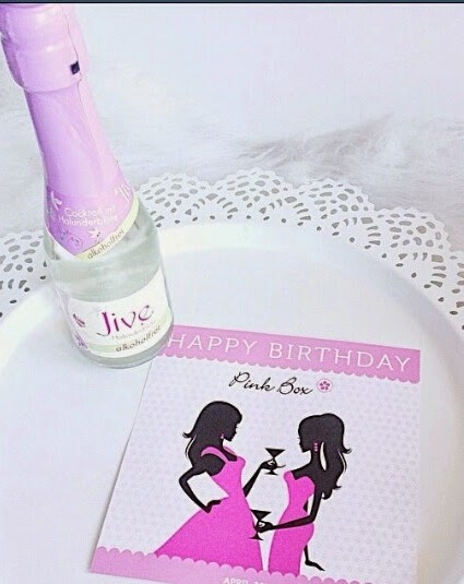 Happy Birthday Pinkbox.♥