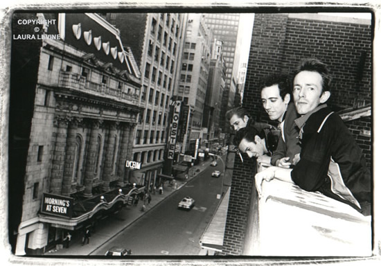 The Clash, Time Square, NY, 1981