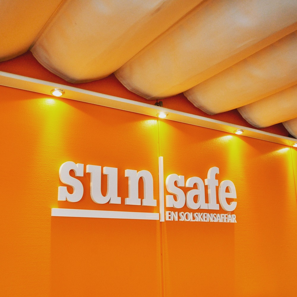 Sunsafe Interior branding