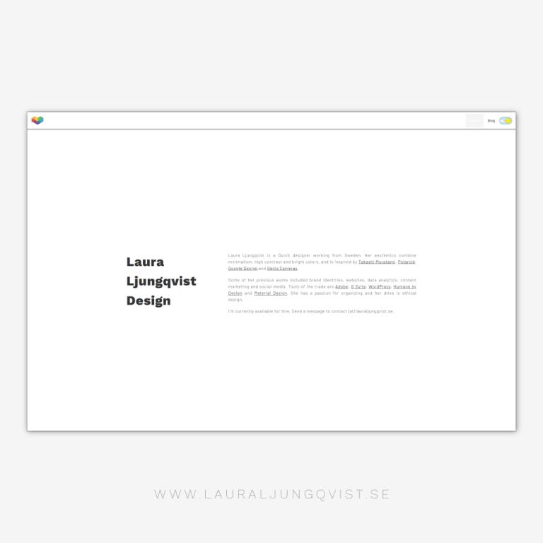 LLD Website concept