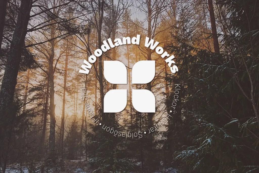 Woodland Works Banner